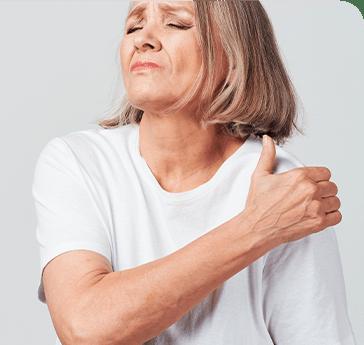 Desgaste de cartílago en hombro